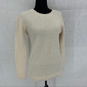 All Saints 100% cashmere knit sweater